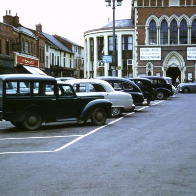 Five Years in the Fifties - Car Park